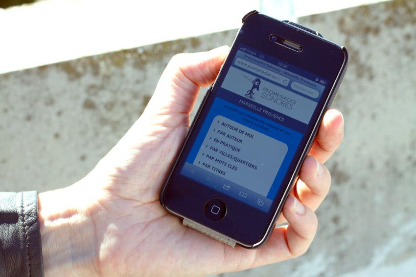 les promenades sonores sur mobile