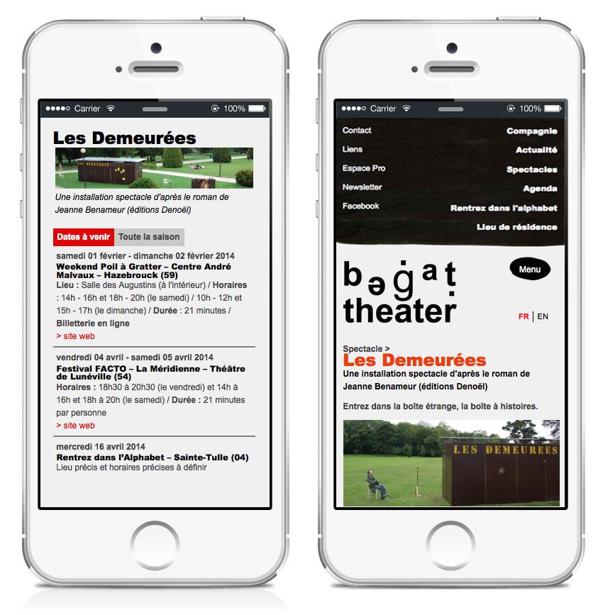 le site begat.org est visible sur tous les supports mobiles, tablettes et ordi