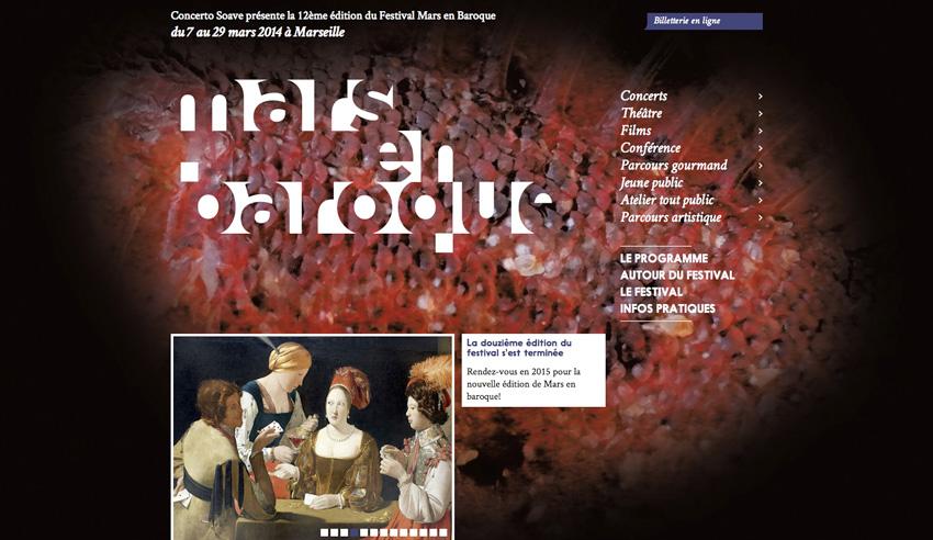 Festival Mars en Baroque - accueil