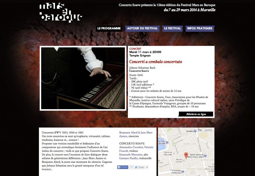 Festival Mars en Baroque - Concert