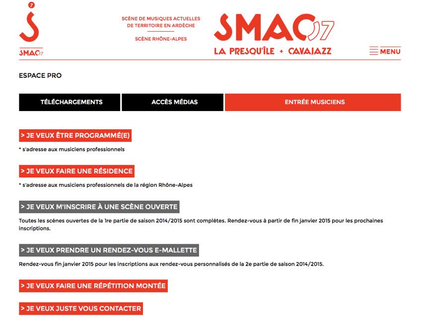 SMAC Ardèche 07 - Espace pro
