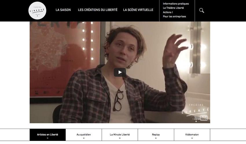 Web tv Théâtre Liberté