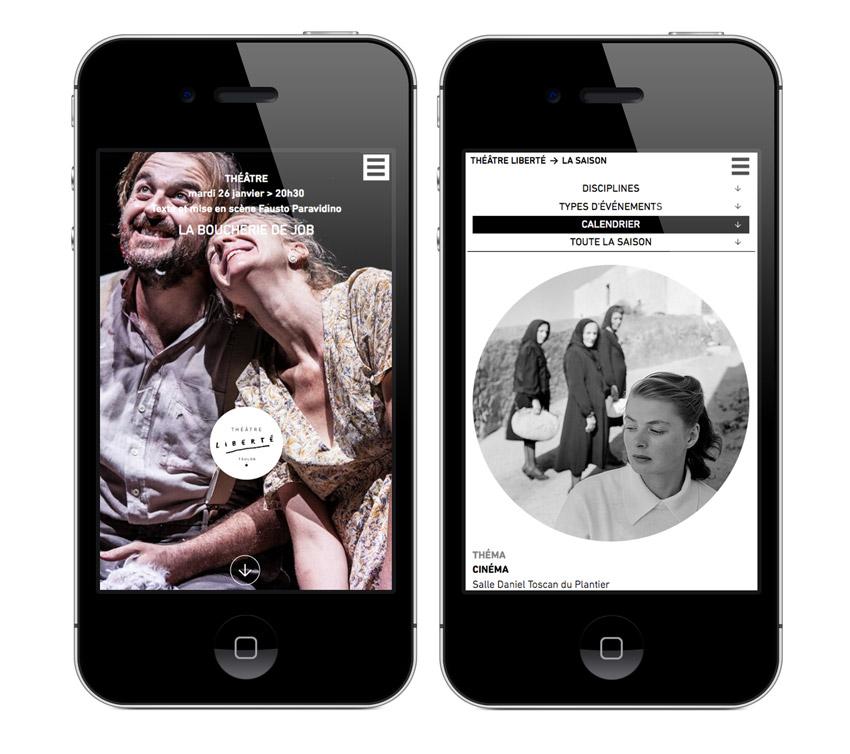 Version mobile - Théâtre Liberté